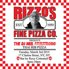 3/3 - Tues - We're having a Pizza Party & You're Invited @ Rizzo's In LES #NYC