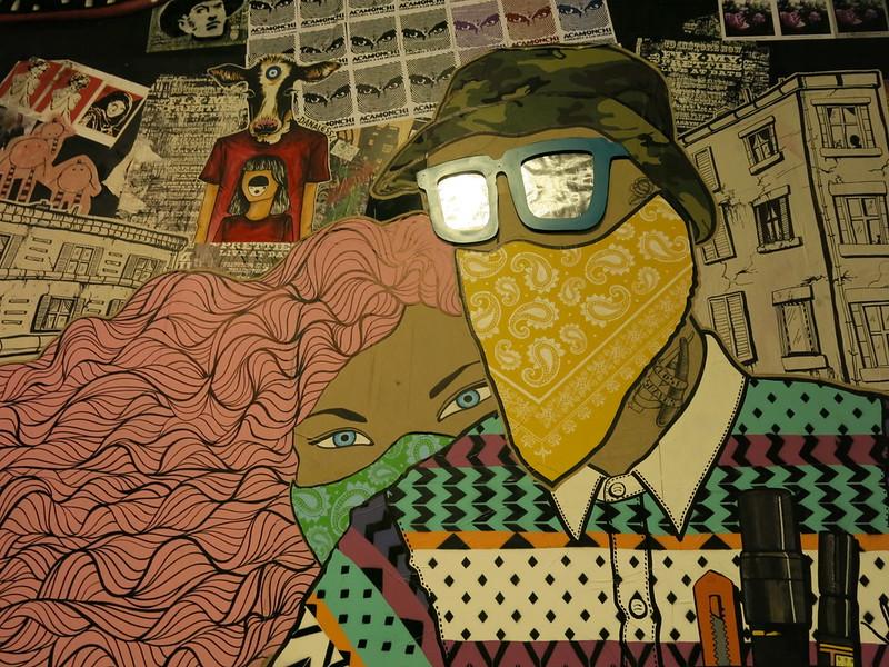 Stick em up - Spectrum Street Art Festival - YMCA