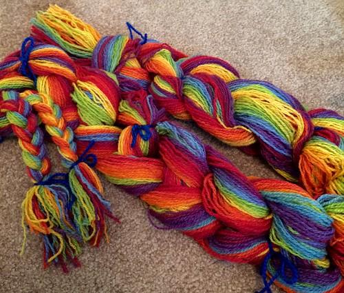 Rainbow warp chain