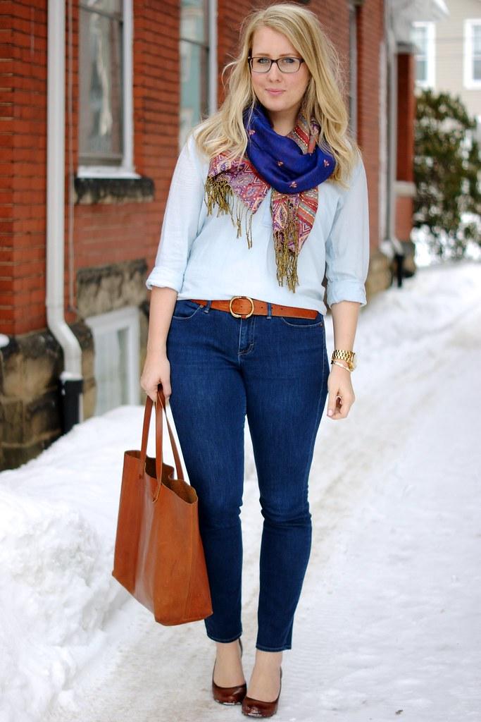 madewell skinny skinny jeans, madewell transport tote