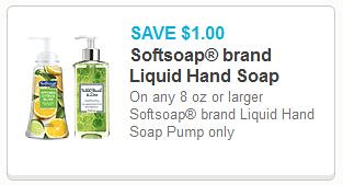 image regarding Softsoap Printable Coupon known as Softsoap Liquid Hand Cleaning soap $1.99 at Walgreens with Fresh new $1/1