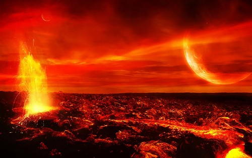 Molten planet Alpha Centauri Bb