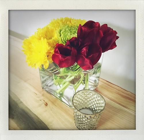 tulips & mums