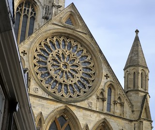 Rose window, south transept, c1250 - York Minster, York, North Yorkshire, England