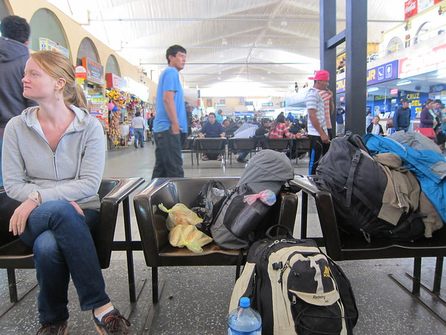 Bus Terminal Delay on the Way to Colca Canyon