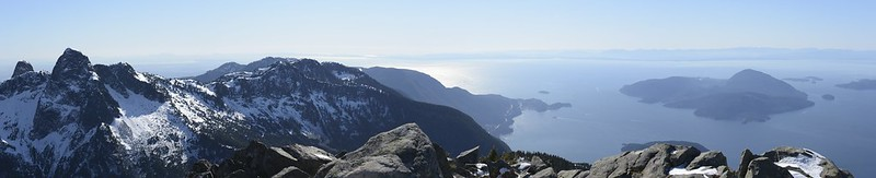 The Lions, Howe Sound, and Bowen Island