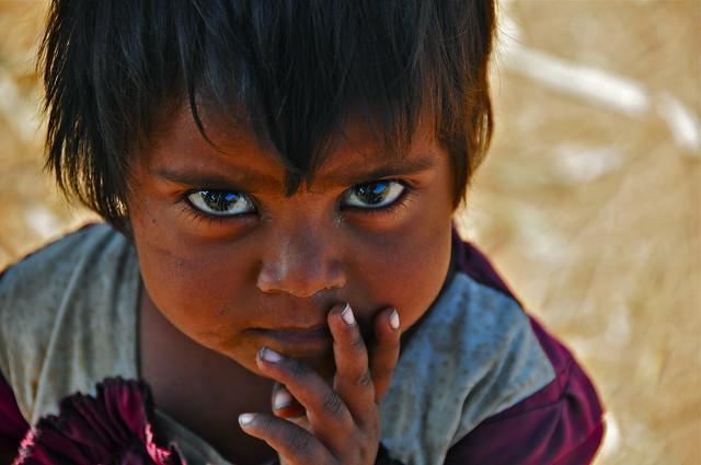 India-Gujarat-Adiwasi village