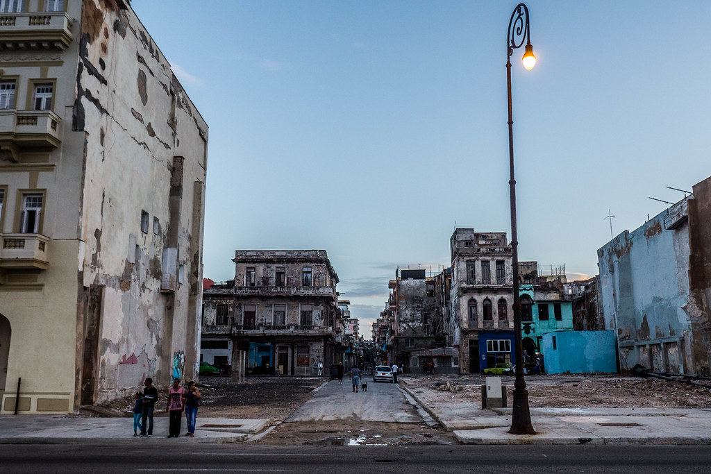The streets near the Malecon in Havana, Cuba.jpg