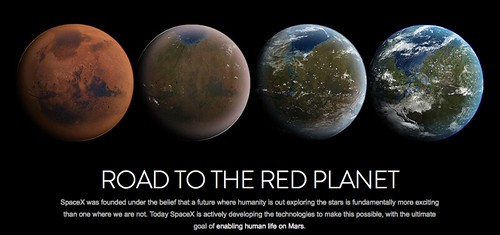SpaceX Terraform Mars (http://www.spacex.com)