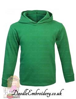 Hoodie - Emerald Green copy