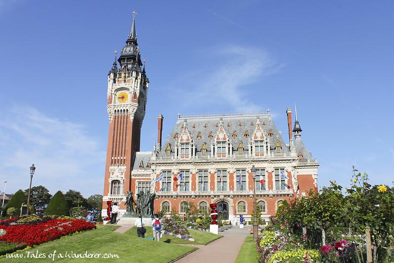 CALAIS - Hôtel de ville de Calais