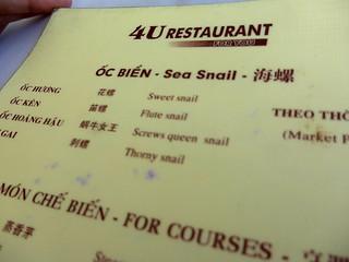 Queen snail serviced