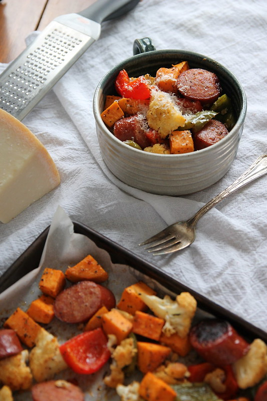 Smoked Sausage and Roasted Vegetables 2
