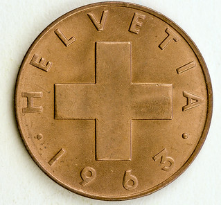 Coin photography - 1963 Switzerland one cent