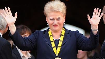 Dalia Grybauskaitė Charlemagne Prize. The Lithuan with a ,,great,, future