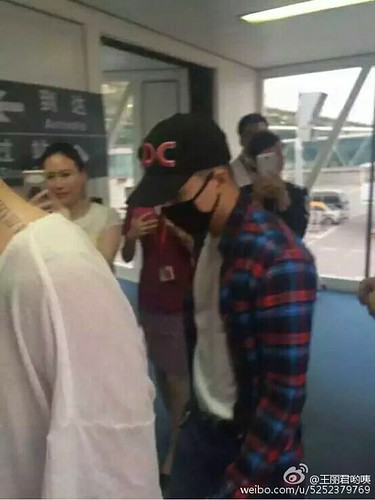 BIGBANG arrival Wuhan 2015-06-26 003