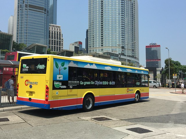 Hong Kong Citybus / BYD K9R (Electric Bus) / 1581 TV_3095