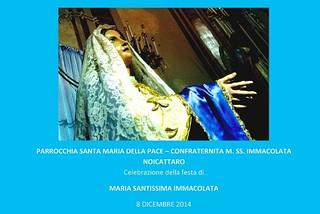 Noicattaro. Programma festa Immacolata front