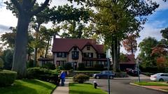 Walking To Church On A Beautiful Fall Sunday Morning