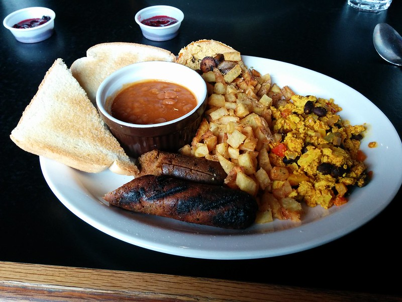 Disgraceland Vegan Full English Breakfast