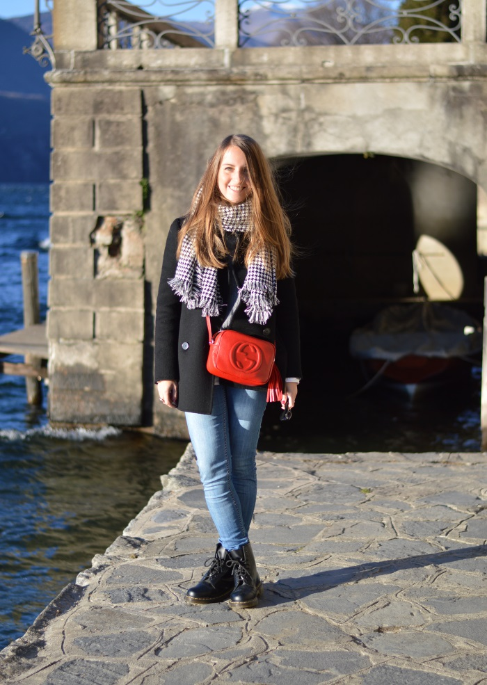 orta, piemonte, wildflower girl, lifestyle, cosa fare la domenica, look, outfit, Gucci, disco bag, pied-de-poule, blackfive, Benetton, Colombo (1)