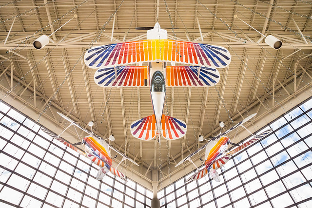 Airplane, Aircraft, EAA, Aviation, Christen Eagle, Colorful, EAA Museum