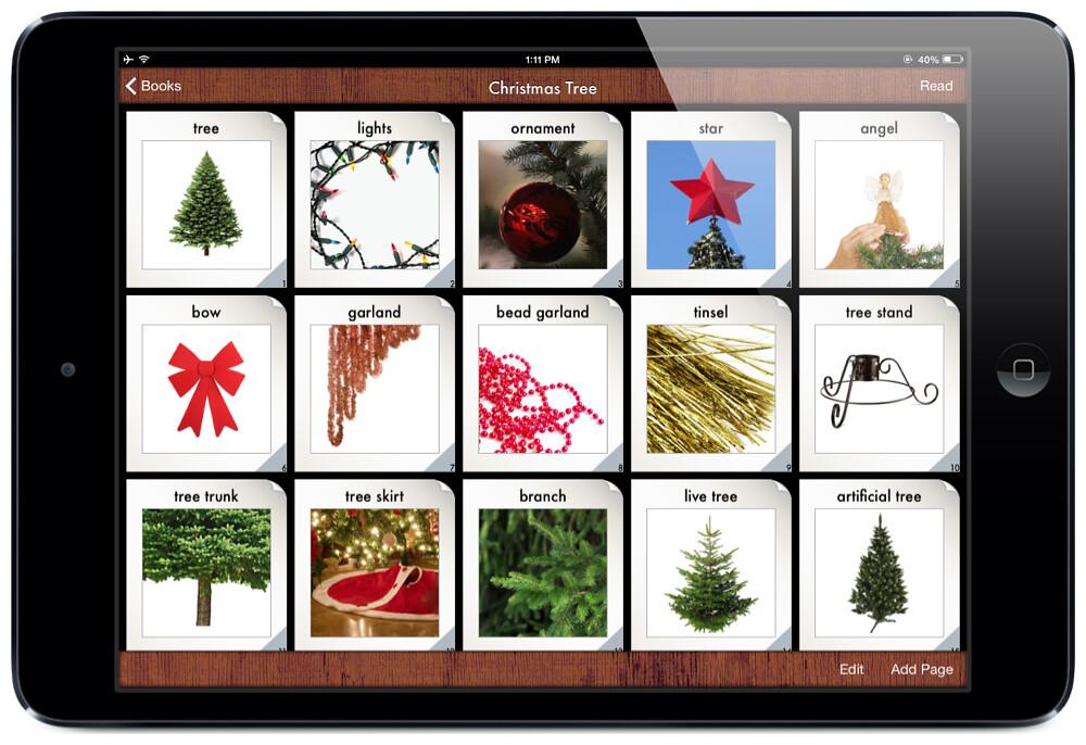 i Get it...Christmas App Menu