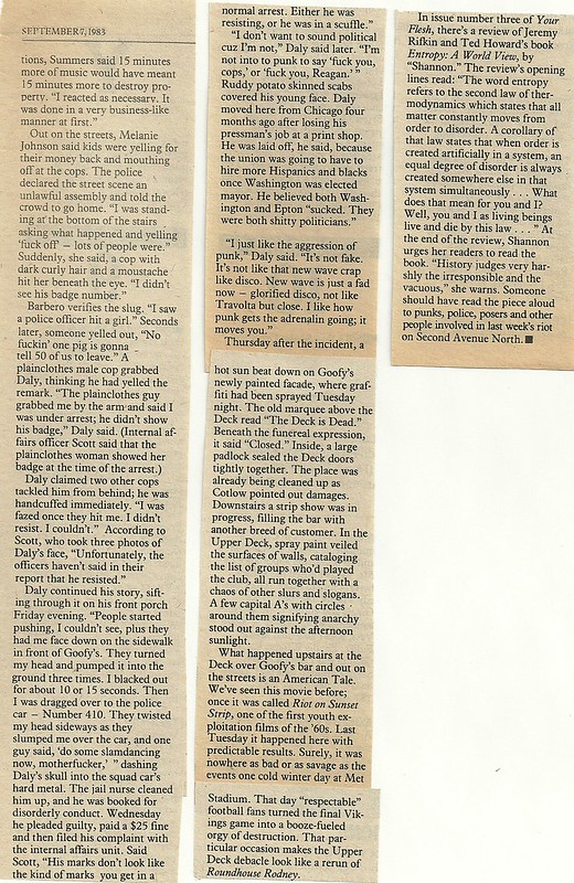 "09/07/83 City Pages ""The Wild Ones"" (7/8)"