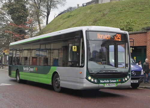 SC Norfolk Green 25122 YJ56 ATV