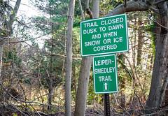 2428 Leiper-Smedley Trail Sign