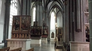 Side altars St Victor Cathedral Xanten