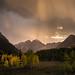 Stormy Maroon Sunset II by Kurt Lawson