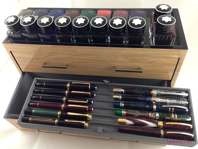 Review Wolf Designs Meridian Two Drawer Valet, Charging Station & Pen Box @Wolf1834 @Massdrop (8)