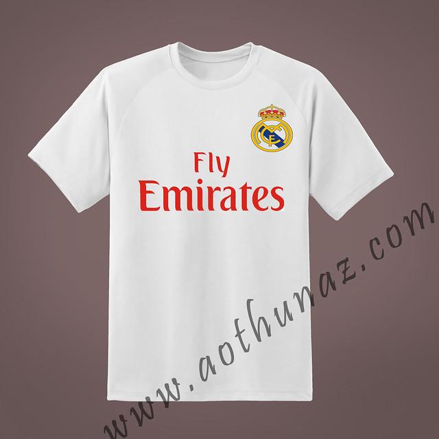 Áo thun bóng đá - CLB Real Madrid - MS1102