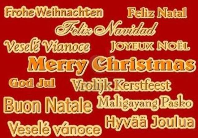 Frohe Weihnachten Und Ein Glückliches Neues Jahr In Allen Sprachen.Christmas Nostalgie Knutisweekly Com