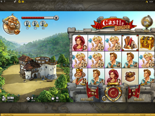 Castle Builder slot game online review
