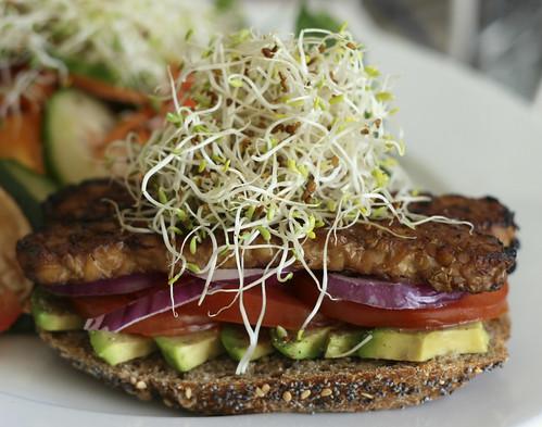 Monica's Smoky Tempeh Sandwich