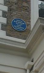 Photo of Arthur Rackham blue plaque