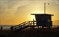 Santa Monica Lifeguard tower - Cabine de sauveteur
