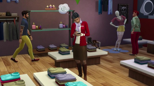 The Sims 4 Get to Work- Official Retail Gameplay Trailer 2508
