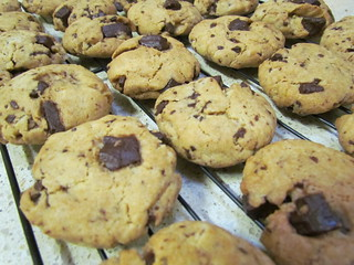 Orange Chocolate Chunk Cookies
