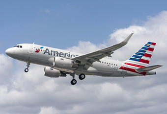American Airlines A319 take off (American Airlines)