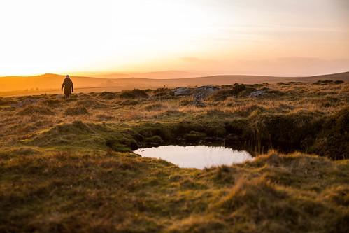 sunset sky water grass canon stream moors tamron 6d