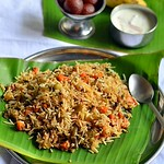 Kerala vegetable biryani - Malabar style