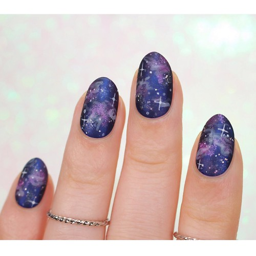 Matte-A-England-Galaxy-Nails