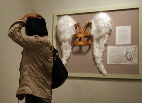 La exposición Ilya y Emilia Kabakov; angelología: utopía y ángeles finalizó el domingo en el Antiguo Colegio de San Ildefonso Foto María Meléndrez Parada