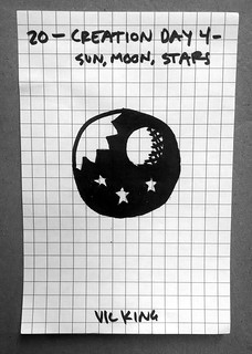 Creation Day 4 - Sun, Moon, Stars