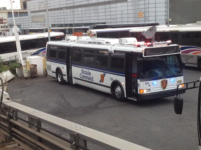 New Jersey Transit Flxible Metro D Converted To Njt Police