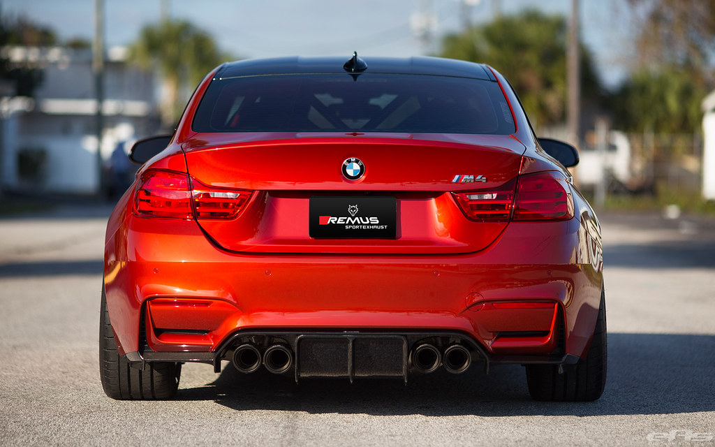 Us Release Remus F8x M3 M4 Sport Exhaust System