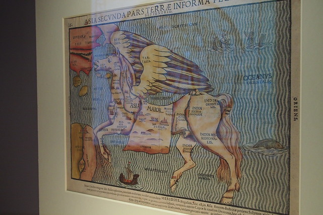 from Itinerarium Sacrae Scripturae, Heinrich Bunting. Geo | Graphic exhibition, National Library of Singapore
